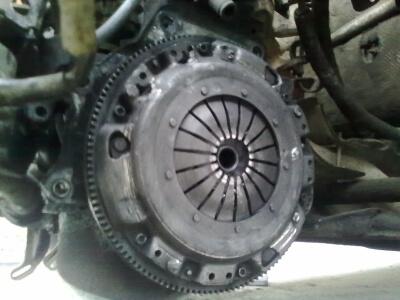 Демонтаж диска сцепления
